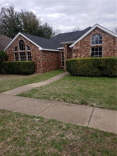 Cedar Hill Single Family Home Active Option Contract: 1516 Curtis Lane