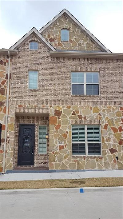 Denton County Townhouse For Sale: 2805 Lindale Drive