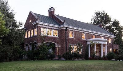 Fort Worth Single Family Home For Sale: 1405 Elizabeth Boulevard