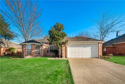 Forney Single Family Home Active Option Contract: 142 Princeton Circle