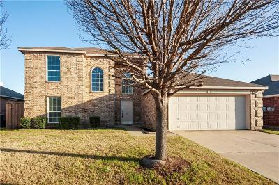 Forney Single Family Home For Sale: 107 Cowboy Drive