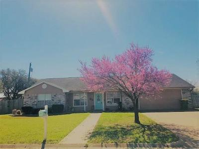 Groesbeck, Kosse Single Family Home Active Option Contract: 210 Man O War Street