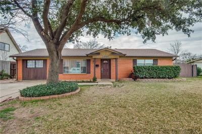 North Richland Hills Single Family Home Active Option Contract: 6749 Marilyn Lane