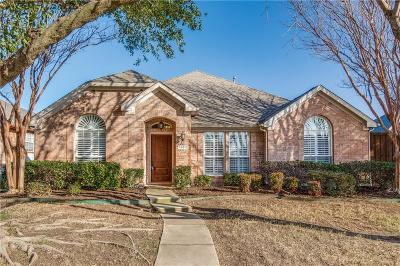 Frisco Single Family Home Active Option Contract: 10612 Wild Oak Drive