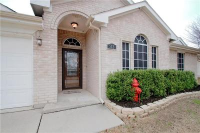 Azle Single Family Home For Sale: 512 Harbor Crest Road