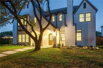 Dallas  Residential Lease For Lease: 7341 Dominique Drive
