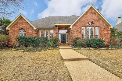 Plano Single Family Home Active Option Contract: 3504 Caleche Court