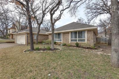 Bedford Single Family Home Active Option Contract: 1409 Donna Lane