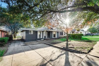 Dallas County Single Family Home For Sale: 1726 Melbourne Avenue