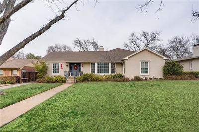 Fort Worth Single Family Home For Sale: 3824 W Biddison Street