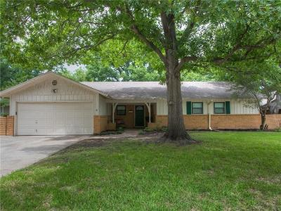 Fort Worth Single Family Home Active Option Contract: 4116 Bilglade Road