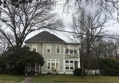 Mckinney Single Family Home Active Option Contract: 606 Tucker Street