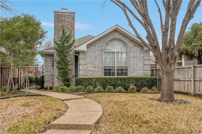 Collin County Single Family Home Active Option Contract: 18723 Redstone Circle
