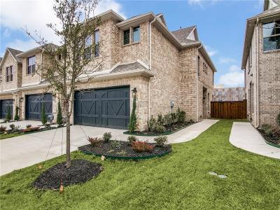 Plano Townhouse For Sale: 3012 Galveston Street
