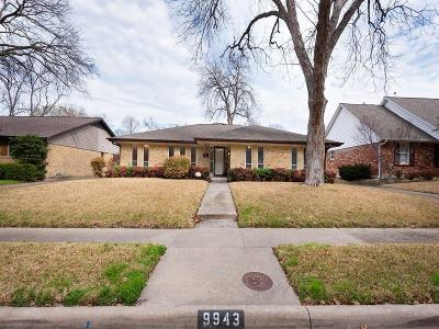 Single Family Home Active Option Contract: 9943 Greenfield Drive