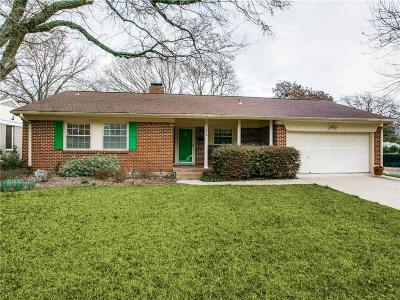 Dallas Single Family Home For Sale: 464 Parkhurst Drive