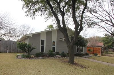 Plano Single Family Home Active Contingent: 3909 Villa Downs Drive