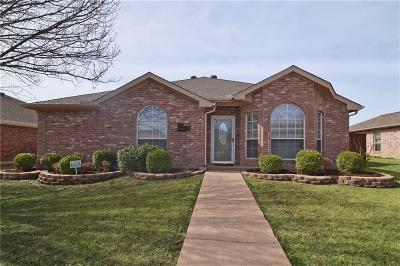 Sachse Single Family Home For Sale: 3516 Ty Circle
