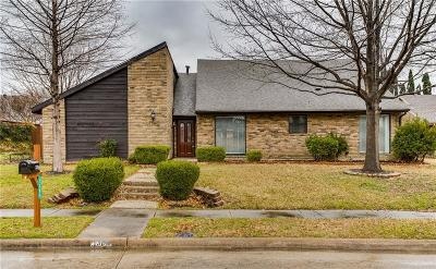 Plano Single Family Home Active Option Contract: 1304 Ursula Court