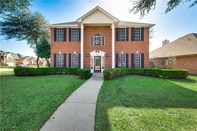 Plano Single Family Home Active Option Contract: 4708 Portrait Lane