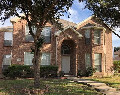 Carrollton Residential Lease For Lease: 3636 Stockton Drive