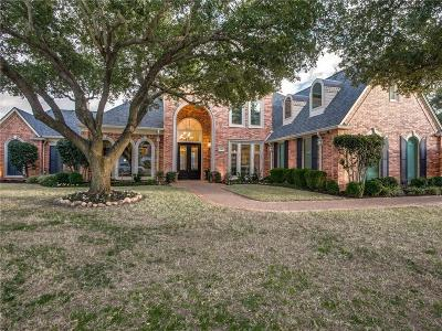 Southlake Single Family Home Active Option Contract: 245 Creekway Bend