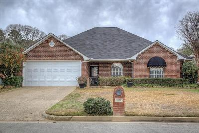 Tyler Single Family Home For Sale: 3106 Silkwood Drive