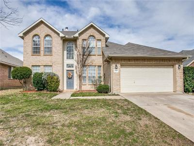 Tarrant County Single Family Home For Sale: 2934 Hastings Drive