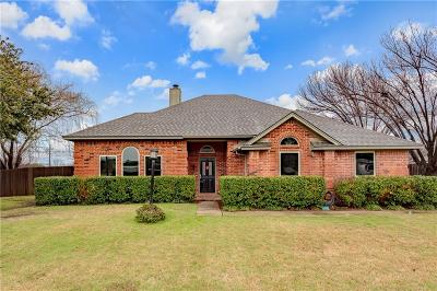 Lewisville Single Family Home Active Option Contract: 1037 Seneca Way