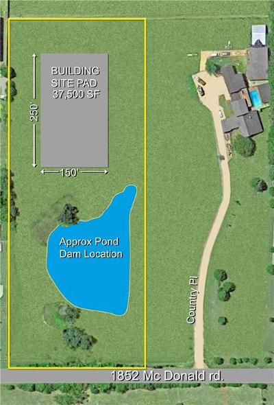 Rockwall Residential Lots & Land For Sale: 1852 A McDonald Road