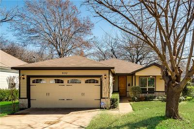 Dallas Single Family Home For Sale: 9012 Diceman Drive