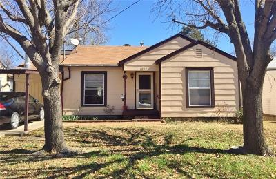 Sherman Single Family Home For Sale: 1817 N Ricketts Street