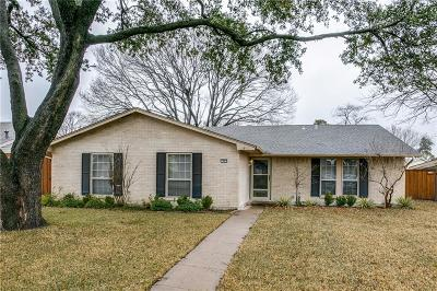 Richardson Single Family Home Active Option Contract: 1805 Rainbow Drive