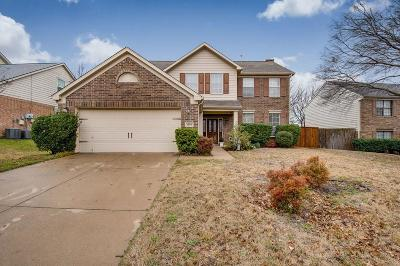 Flower Mound Single Family Home Active Option Contract: 1604 Yaggi Drive
