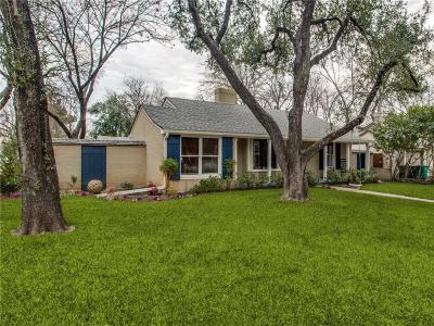 Fort Worth Single Family Home For Sale: 6348 Darwood Avenue