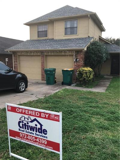 Lewisville Single Family Home Active Option Contract: 930 S Old Orchard Lane