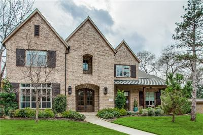 Dallas Single Family Home For Sale: 9328 Chiswell Road