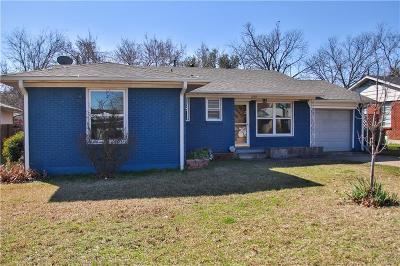 Sherman Single Family Home Active Option Contract: 1708 W College Street