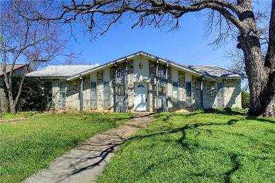 Lewisville Single Family Home Active Option Contract: 601 Idlewilde Drive