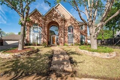 Keller Single Family Home Active Option Contract: 1644 Birchmont Lane