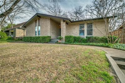 Dallas Single Family Home For Sale: 9760 Maplehill Drive