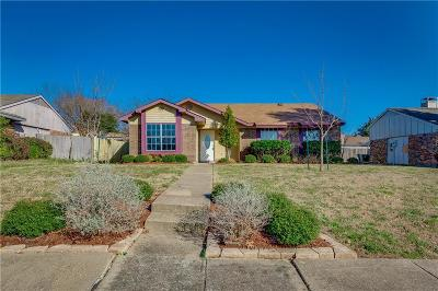 Garland Single Family Home For Sale: 2122 High Bluff Drive