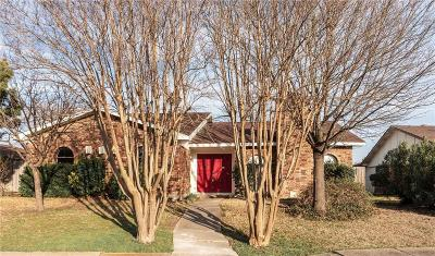 Garland Single Family Home Active Option Contract: 3006 Flameleaf Street