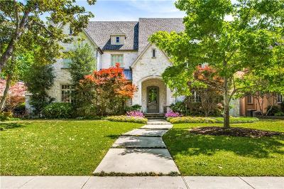 Dallas Single Family Home For Sale: 7420 Caruth Boulevard