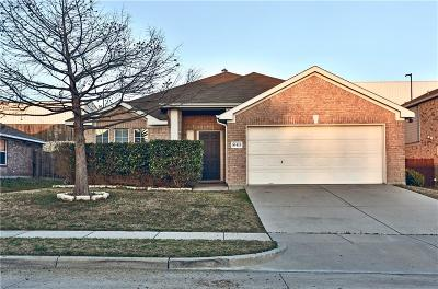 Benbrook Single Family Home Active Option Contract: 10413 Trevino Lane