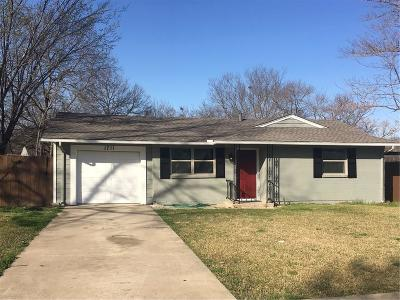 Mesquite Single Family Home For Sale: 1711 Carnation Drive