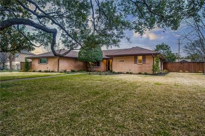 Dallas Single Family Home For Sale: 4009 Cedarbrush Drive