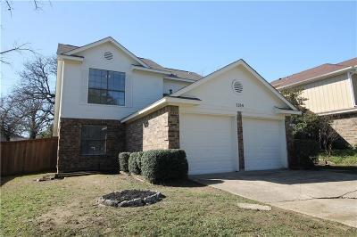 Lewisville Single Family Home For Sale: 1314 Azalia Bend