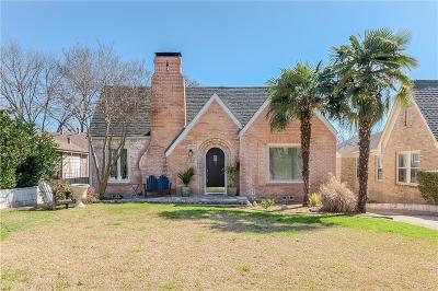 Dallas Single Family Home For Sale: 6902 Vivian Avenue