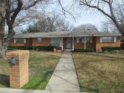Mckinney Single Family Home Active Option Contract: 402 Paula Road